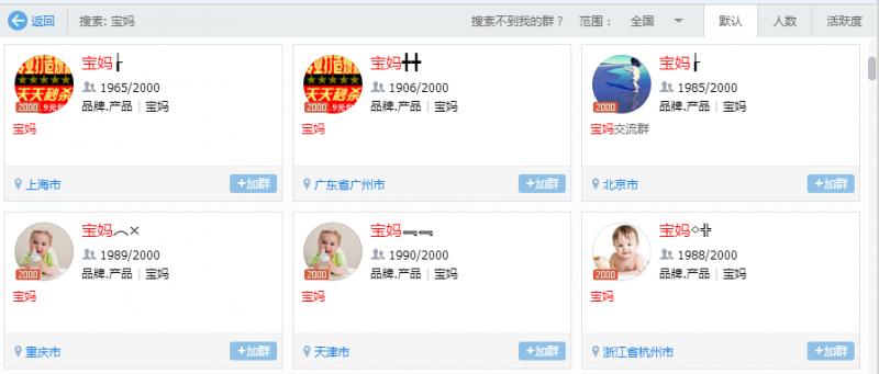 廖嘉晨分享:利用宝宝树社区,引流精准宝妈粉500+